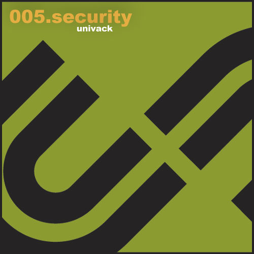 Univack 005 Security EP [UV005]